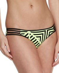 Seafolly Pop Striped Strappy Swim Bottom - Lyst