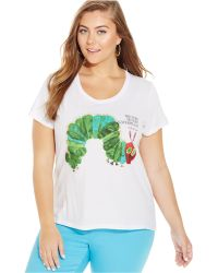 Out Of Print - Plus Size The Very Hungry Caterpillar Graphic Tee - Lyst