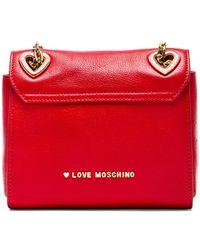 Love Moschino Angelo I Love Heart Shoulder Bag - Lyst