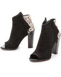 Dolce Vita Laine Booties - Blackwhite - Lyst