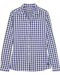 Burberry Brit - Gingham Cotton Shirt - Lyst