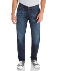 Lucky Brand - Original Straight-Fit Denim Jeans - Lyst