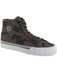 PF Flyers | 'center Hi - Camo' Trainer | Lyst