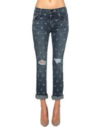 James Jeans Buddy Slouchy Straight Leg blue - Lyst