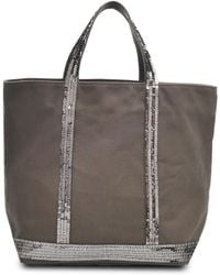 Vanessa Bruno Medium Canvas Shopper - Lyst
