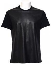 Neil Barrett | T-shirt Con Contrasto | Lyst