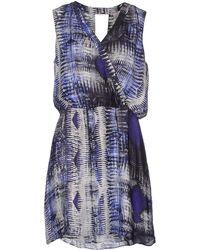 Parker Short Dress - Lyst