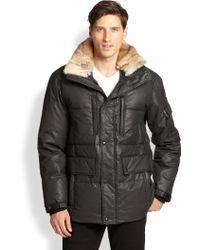 Sam. Parker Fur Collar Jacket - Lyst
