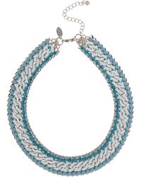 Coast White Chain Necklace - Lyst