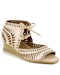 Jeffrey Campbell Rodillo - Demi-Wedge Sandal - Lyst