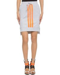 Y-3 Beach Skirt - Light Grey Heather - Lyst