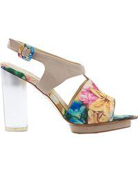 Arden Wohl X Cri De Coeur Marceline Sandal multicolor - Lyst