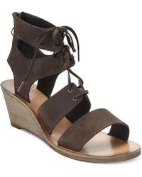 Denim & Supply Ralph Lauren - Leni Wedge Sandals - Lyst