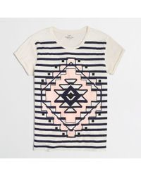 J.Crew Factory Layered Shapes Collector Tee - Lyst