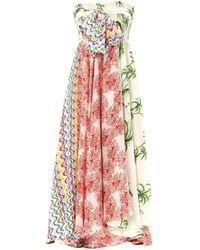 Easton Pearson Take Away - Contini Paradise Print Silk Dress - Lyst