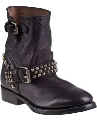 Ash Vicious Ankle Boot Black Leather - Lyst