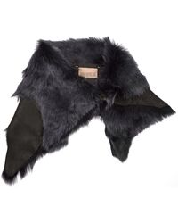 Karl Donoghue - Shearling And Leather Snood - Lyst