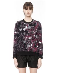 Alexander Wang Double Face Tie Dye Pullover - Lyst