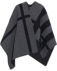 Burberry Prorsum - Wool And Cashmere-Blend Reversible Wrap - Lyst