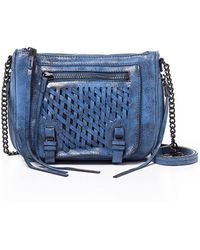 She + Lo - Take A Chance Leather Zip Crossbody Bag - Lyst
