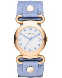 Marc By Marc Jacobs Women'S Molly River Leather Strap Watch 30Mm Mbm1307 - Lyst