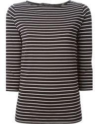 Gucci Horizontal Stripe T-Shirt - Lyst