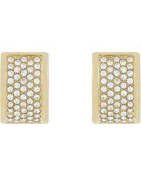 Michael Kors - Pavé Huggie Earrings - For Women - Lyst