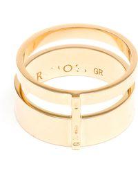 Repossi Berbère 18-karat Gold Ring - Lyst