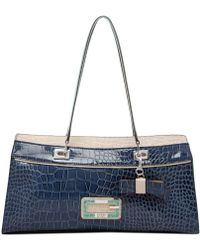 Guess Dorsay East West Satchel - Lyst