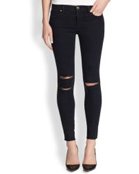 J Brand Photo Ready Distressed Ankle Skinny Jeans - Lyst