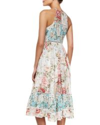 Zimmermann Georgia Floralprint Sundress Coverup - Lyst