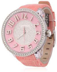 Tendence - Glam 3H Pink Watch - Lyst