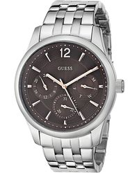 Guess Silver Watch - Lyst