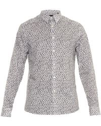 PS by Paul Smith Animal-Print Cotton Shirt - Lyst