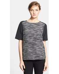 Vince Textured Top - Lyst