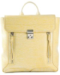 3.1 Phillip Lim Yellow Satchel Backpack - Lyst