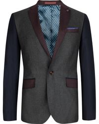 Ted Baker Septa Wool Mix Blazer - Lyst