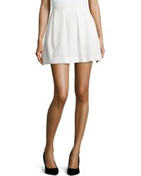 French Connection Sunshine Walk Flared Skirt - Lyst
