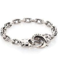 King Baby Studio   Hand Cuff Silver Bracelet   Lyst