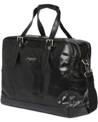 The Bridge Handpainted Leather Duffle Bag - Lyst