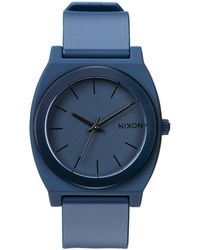 Nixon | Time Teller Blue Watch | Lyst