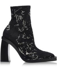 Ann Demeulemeester Ankle Boots black - Lyst