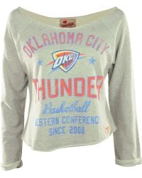 Sportiqe - Women's Long-sleeve Oklahoma City Thunder Crop Top - Lyst
