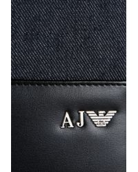 Armani Jeans - Tablet Case In Denim And Faux Leather - Lyst