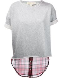 MICHAEL Michael Kors Short Sweater - Lyst