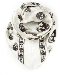 Alexander McQueen 'Skull' Scarf - Lyst