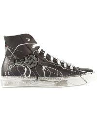 Philipp Plein 'Carnival' Hi-Top Sneakers - Lyst