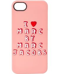 Marc By Marc Jacobs I Heart Marc Iphone Case - Lyst