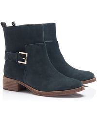 Tory Burch Riley Mid Buckle Bootie - Lyst