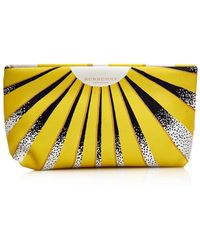 Burberry Prorsum - Book Cover Print Leather Pouch - Lyst
